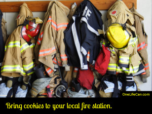 Mindful Act of Kindness - Bring Cookies to Your Local Fire Station