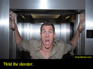 Mindful Act of Kindness - Hold the Elevator