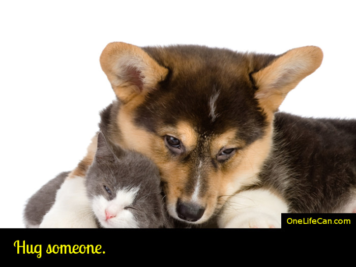 Mindful Act of Kindness - Hug Someone