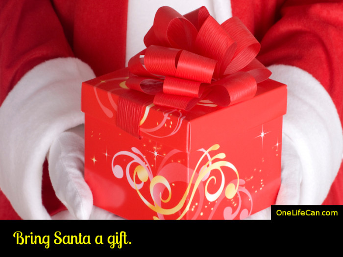 Mindful Act of Kindness - Bring Santa a Gift