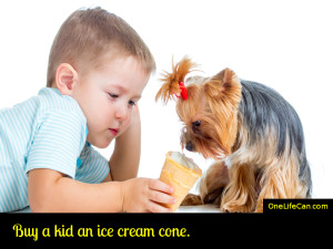 Mindful Act of Kindness - Buy a Kid an Ice Cream Cone